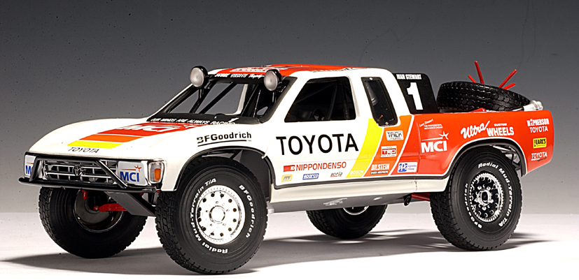 Autoart 1997 Toyota Racing Truck Ivan Stewart 01
