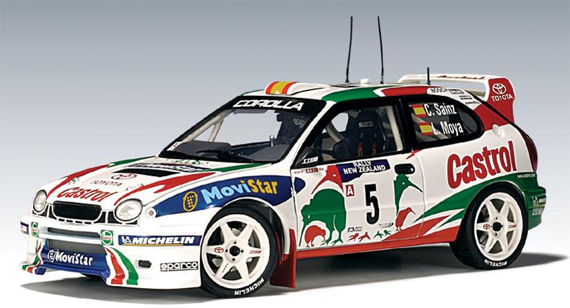 Autoart 1998 Toyota Corolla Wrc C Sainz L Moya 05