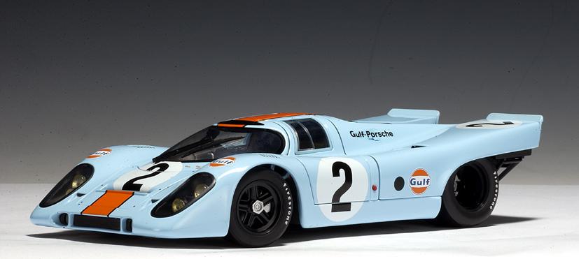 Autoart 1970 Porsche 917k Daytona 24 Hrs Kinnunen