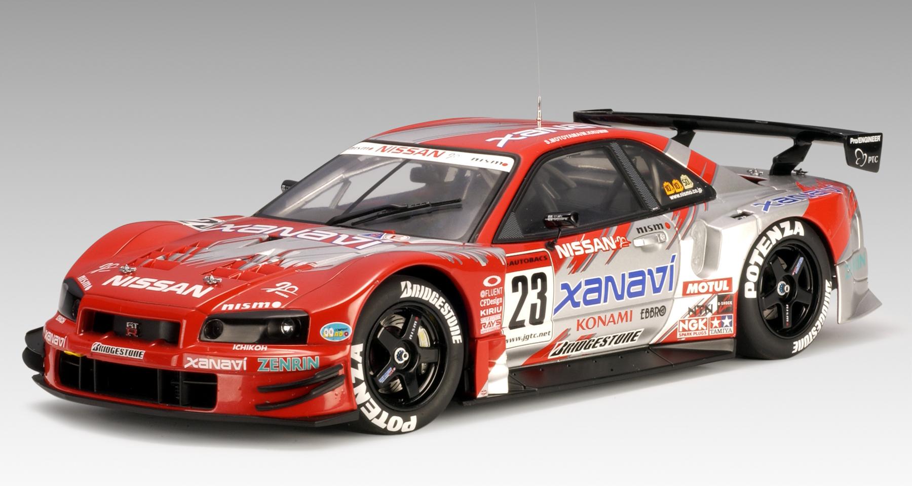 AUTOart: 2003 Nissan Skyline GT-R (R34) JGTC 'Xanavi' #23 ...