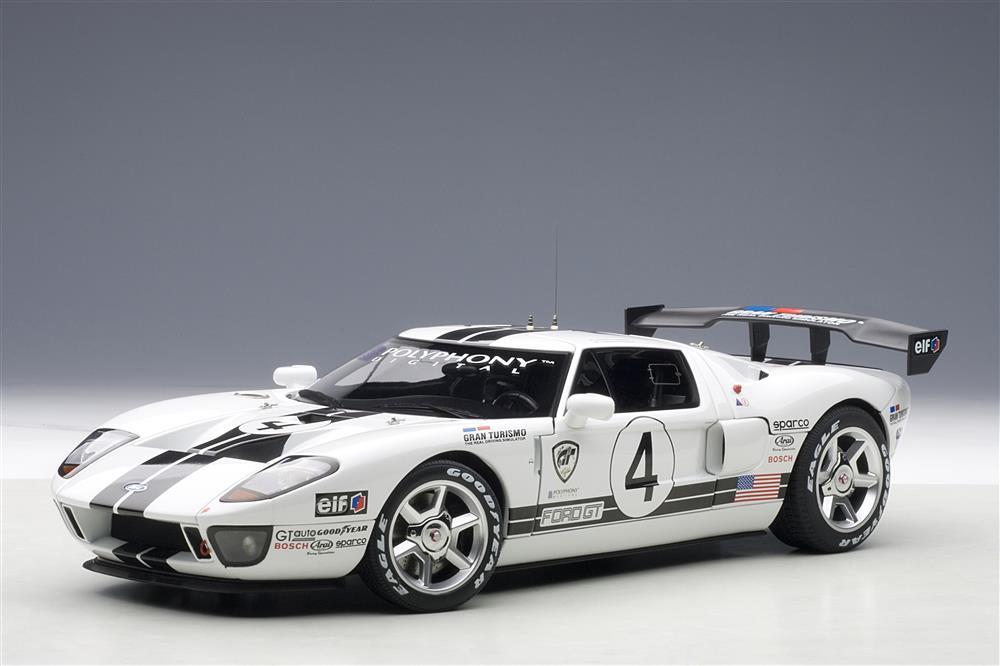 Autoart Ford Gt Lm Spec Ii Race Car 4 80515 In 1 18
