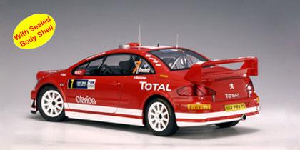 DECALS 1//18 REF 976 PEUGEOT 307 WRC GRONHOLM RALLY ITALIA SARDAIGNE 2005 RALLYE
