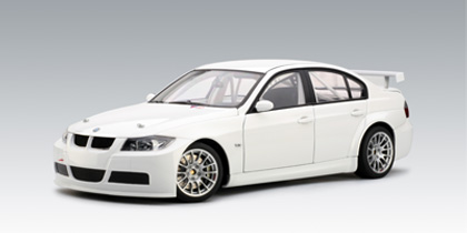 AUTOart: 2006 BMW 320Si WTCC Plain Body Version - White (80646) in 1 ...
