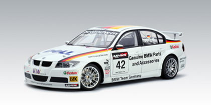 AUTOart: 2006 BMW 320Si WTCC Team Germany J.Muller #42 (80647) in 1 ...