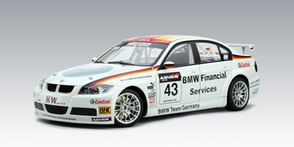 AUTOart: 2006 BMW 320Si WTCC Team Germany D.Muller #43 (80648) in 1 ...