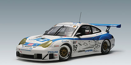 AUTOart: 2006 Porsche 911 (996) GT3 RSR Jetalliance Racing Fia GT #99 (80672) in 1:18 scale