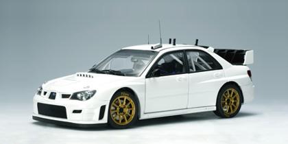 autoart 2006 subaru impreza wrc plain body version