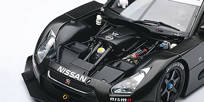 AUTOart: 2008 Nissan GT-R Super GT Test Car (80878) in 1:18 scale