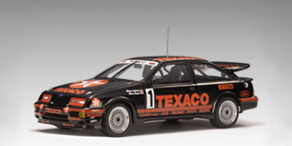 AUTOart: 1987 Ford Sierra Cosworth RS 500 Group A - Texaco #1 (88711) in  1:18 scale