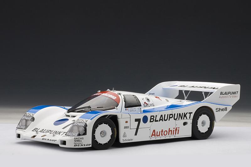 Autoart Porsche 962 C Nurburgring 1988 Blaupunkt 7