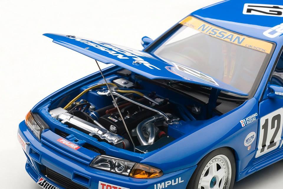 Nissan Skyline 2002 >> AUTOart: Nissan Skyline GT-R (R32) Group A 1990 Calsonic #12 (89079) in 1:18 scale - mDiecast