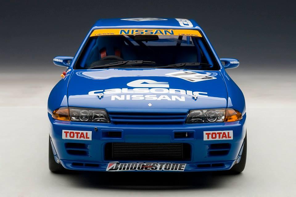 Autoart nissan skyline gt r r32 group a 1990 calsonic 12 89079