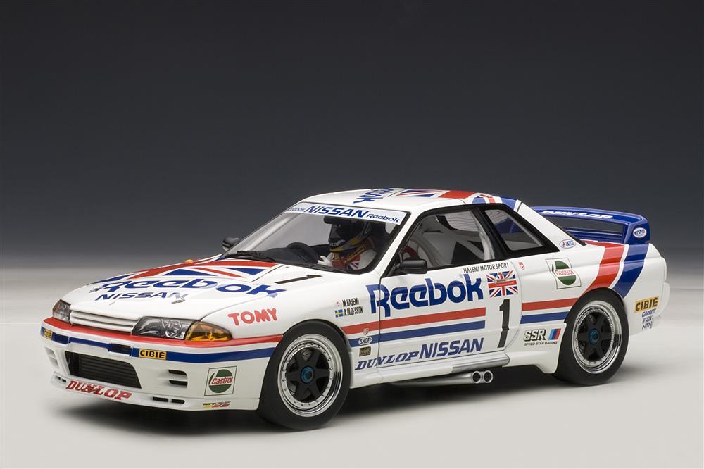AUTOart: Nissan Skyline GT-R (R32) Group A 1990 Reebok #1 ...