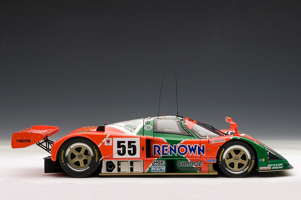 autoart 1991 mazda 787b le mans winner 55 89141 in 1 18 scale mdiecast. Black Bedroom Furniture Sets. Home Design Ideas