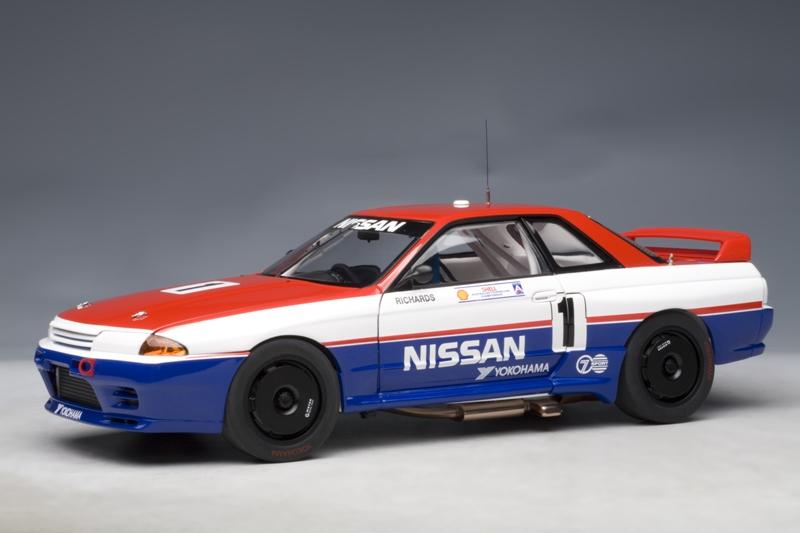 AUTOart: 1991 Nissan Skyline GT-R (R32) Australian Touring ...