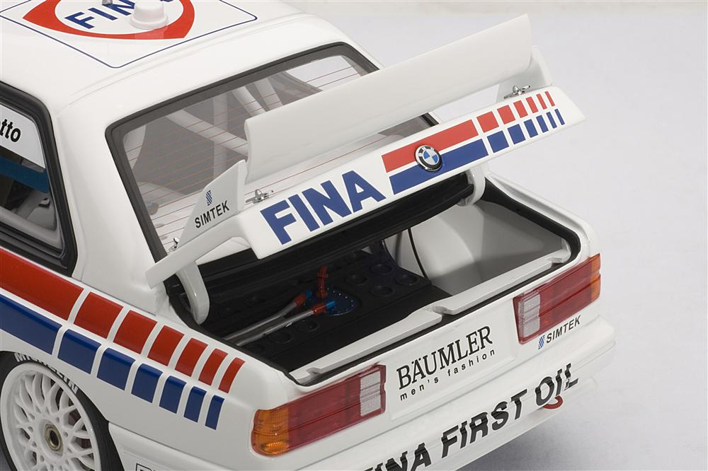 AUTOart: 1992 BMW M3 DTM 'Fina' C.Cecotto #7 (89246) in 1:18 scale