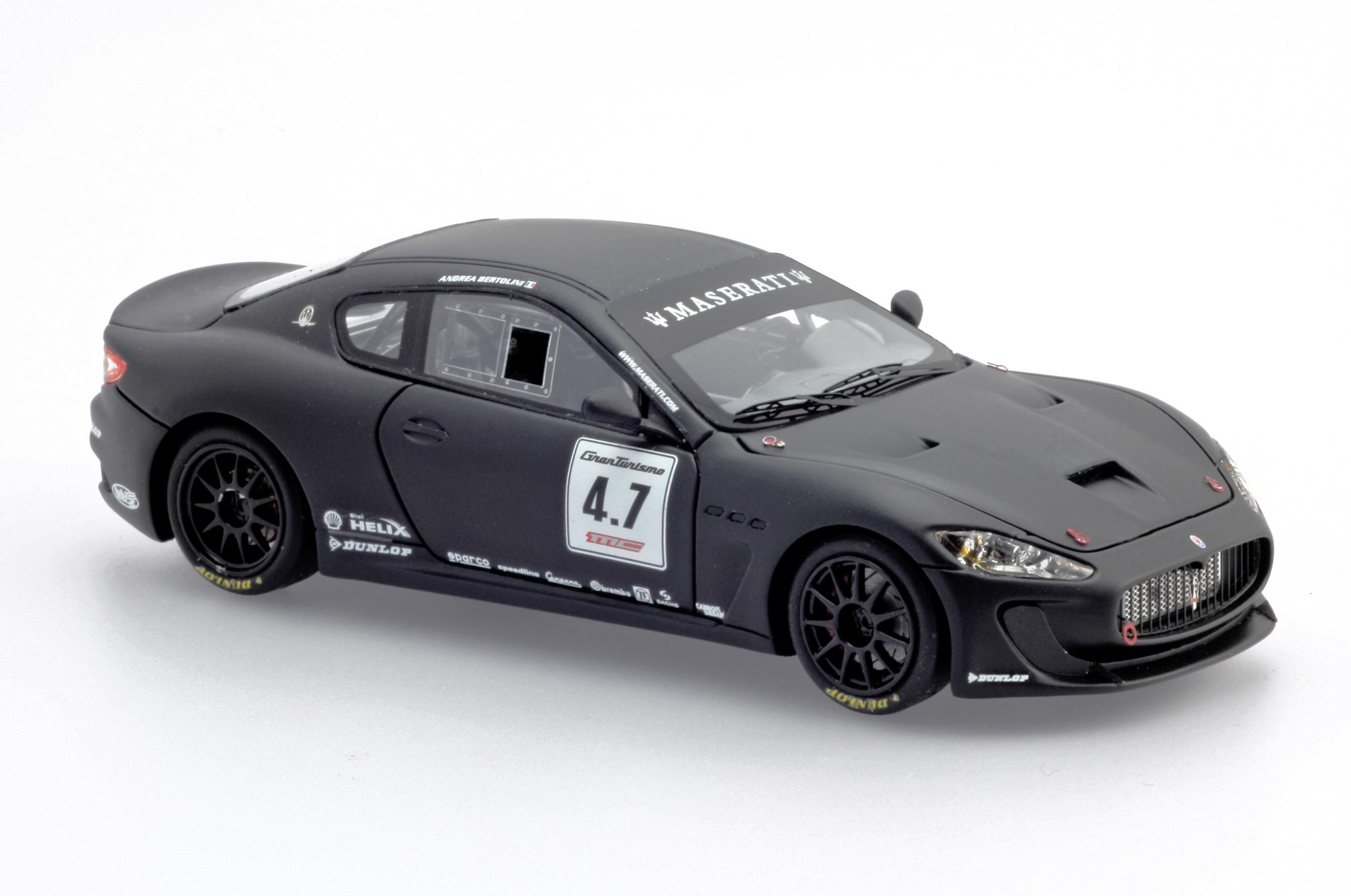 BBR Models: Maserati MC Concept - Matt Black (BBRC02C) in 1:43 scale