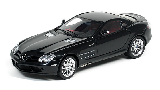 Cmc 2003 Mercedes Benz Slr Mclaren Black C 006f In 1 12 Scale