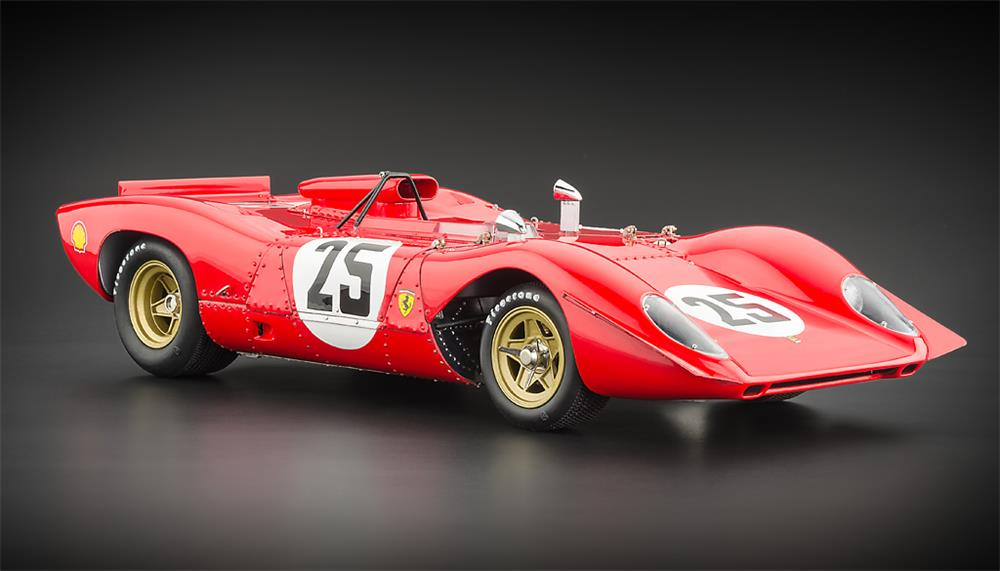 Ferrari Model Cars >> CMC: 1969 Ferrari 312P Spider Sebring #25 (M-095) in 1:18 scale - mDiecast