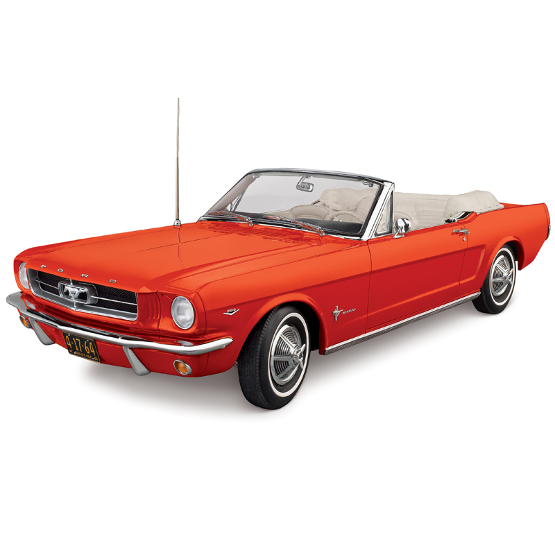 danbury mint 1964 1 2 ford mustang convertible red 0685 0101 in 1 12 scale mdiecast. Black Bedroom Furniture Sets. Home Design Ideas
