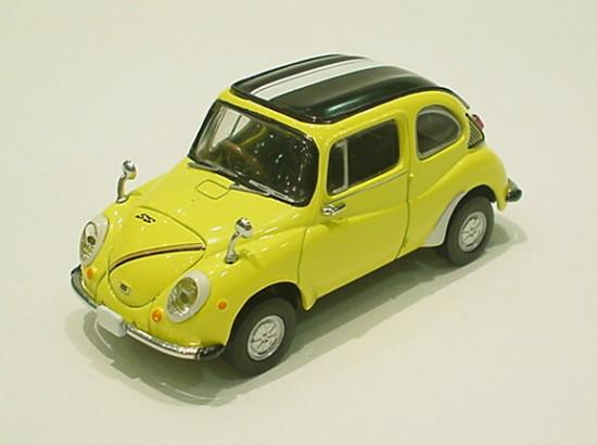 1968 Subaru 360 Young SS - Yellow