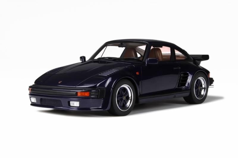 Gt Spirit Porsche 911 930 Turbo Slant Nose Dark Blue