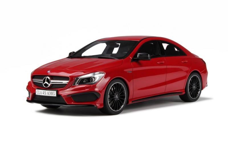 GT Spirit: Mercedes-Benz CLA45 AMG - Jupiter Red (GT031 ...