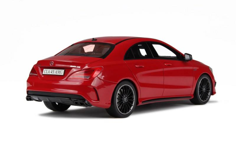 Mercedes Benz Amg Gt >> GT Spirit: Mercedes-Benz CLA45 AMG - Jupiter Red (GT031) in 1:18 scale - mDiecast