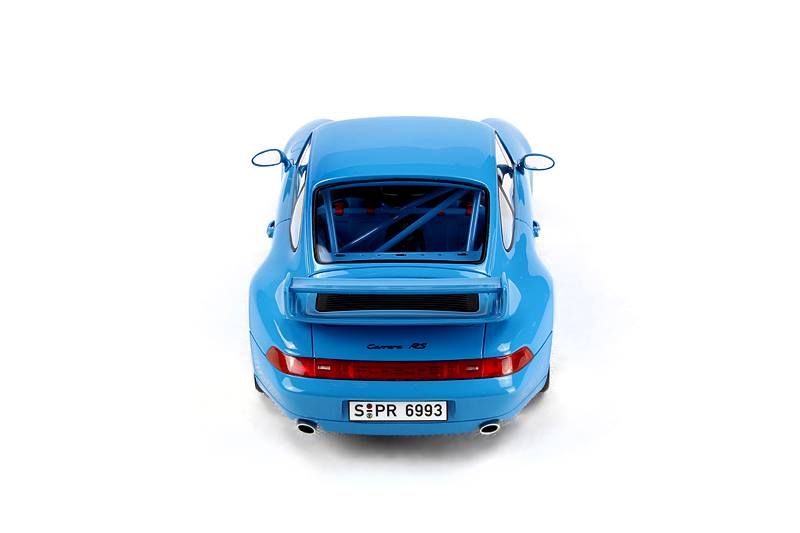 GT Spirit: Porsche 911 (993) Carrera RS Clubsport - Blue (GT005CS) в 1:18 масштабе