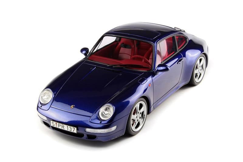 Porsche 911 4s >> GT Spirit: Porsche 911 (993) Carrera 4S - Blue (GT012ZM) in 1:18 scale - mDiecast