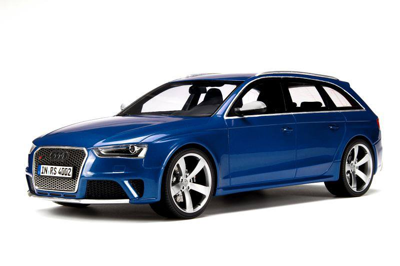 GT Spirit: 2012 Audi RS4 Avant - Sepang Blue (GT016) in 1 ...