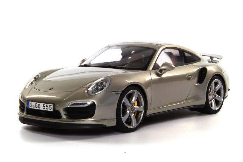 Gt Spirit Porsche 911 991 Turbo Lime Gold Metallic