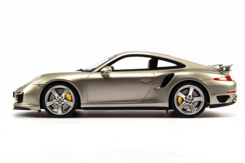Gt Spirit Porsche 911 991 Turbo Lime Gold Metallic