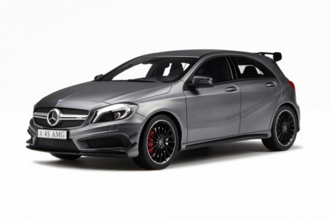 GT Spirit: Mercedes-Benz A45 AMG - Matt Metallic (GT025) in 1:18 scale - mDiecast