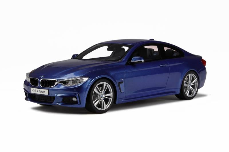 List Of Cars >> GT Spirit: BMW M435i - Estoril Blue (GT027) in 1:18 scale - mDiecast