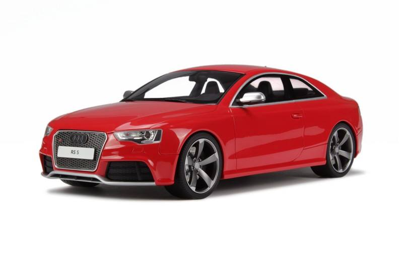 Car In German >> GT Spirit: Audi RS5 Coupe - Misano Red Pearl (GT033) in 1:18 scale - mDiecast