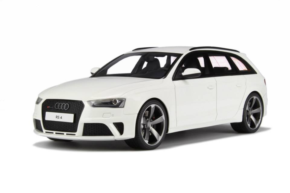 Gt Spirit Audi Rs4 Avant B8 Ibis White Gt045 In 1