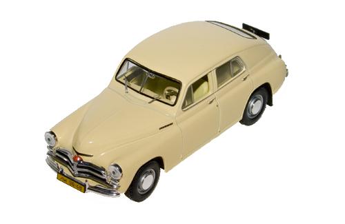 Ist Models: 1950 Gaz M20 Pobeda - Beige (Ist002) In 1:43 Scale