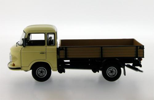 ist models: 1968 barkas b1000 pritschenwagen pick-up - dark beige, Moderne deko