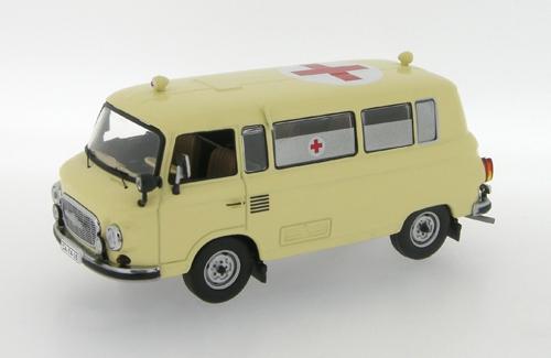 Ist Models: 1963 Barkas B1000 Ambulance - Beige (Ist078) In 1:43