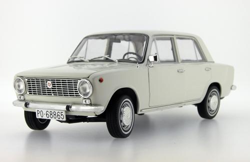 Ist Models 1972 Seat 124 Dark Off White Ist18001seb In 1 18 Scale Mdiecast