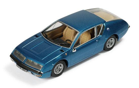 IXO: 1972 Renault Alpine A310 - Blue w/ Beige Interior (CLC126) in 1 ...