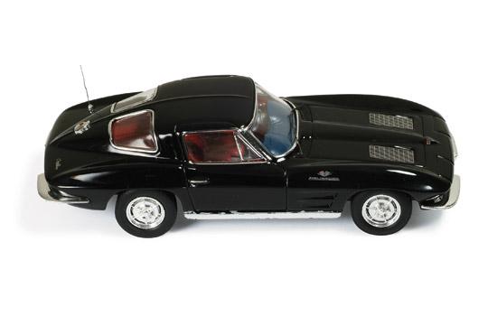 1/43, chevrolet stingray, 1963, ixo clc213