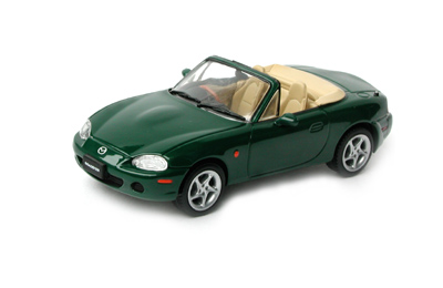 List Of Cars >> J Collection: Mazda MX-5 Open Convertible LHD - Dark Green ...