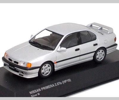 Nissan 2018 >> Kyosho: Nissan Primera TE (P10) - Silver Metallic (03311S) in 1:43 scale - mDiecast