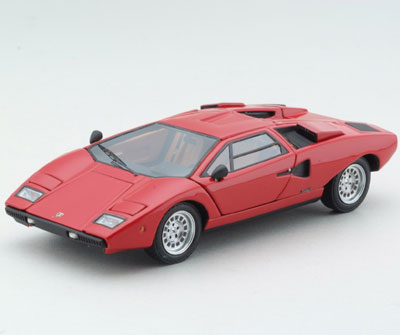 kyosho lamborghini countach lp400 red 04101r in 1 43 scale mdiecast. Black Bedroom Furniture Sets. Home Design Ideas