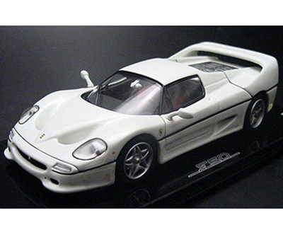 Kyosho Ferrari F50 White W Red Interior 05091w In 143 Scale