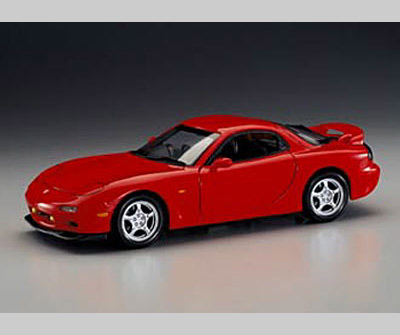 List Of Cars >> Kyosho: 1995 Mazda RX-7 (FD3S) (LHD) - Red (08001R) in 1 ...