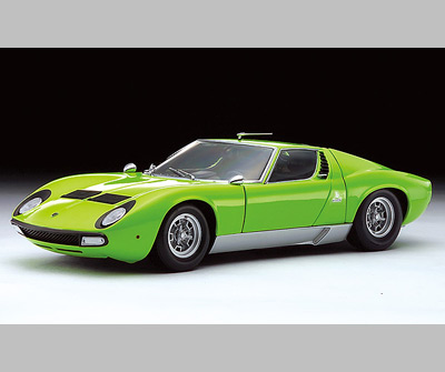 Kyosho Lamborghini Miura P400 Sv Light Green 08313lg In 1 18