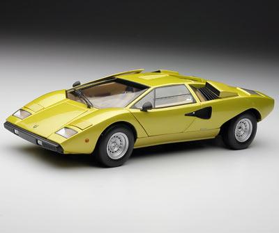 Kyosho Lamborghini Countach Lp400 Gold 08321g In 1 18 Scale